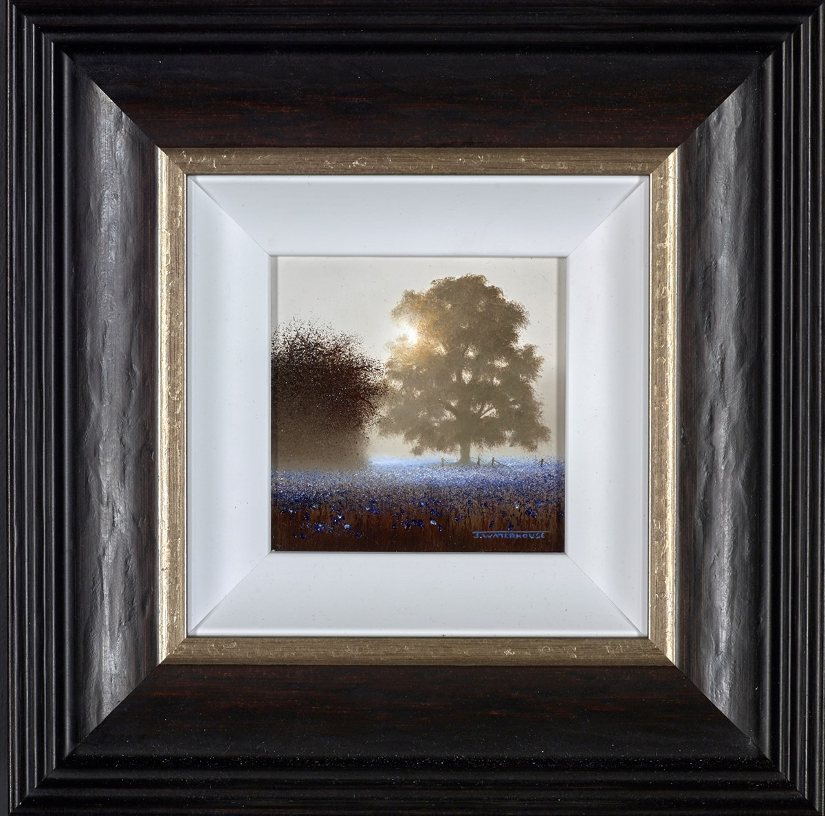 A Beautiful Day by john waterhouse -  sized 4x4 inches. Available from Whitewall Galleries